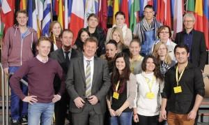 Besuchergruppe Berufskolleg Warendorf 20130206