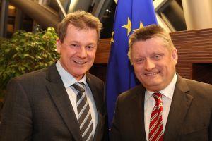 Gespräch mit CDU-Generalsekretär Hermann Gröhe