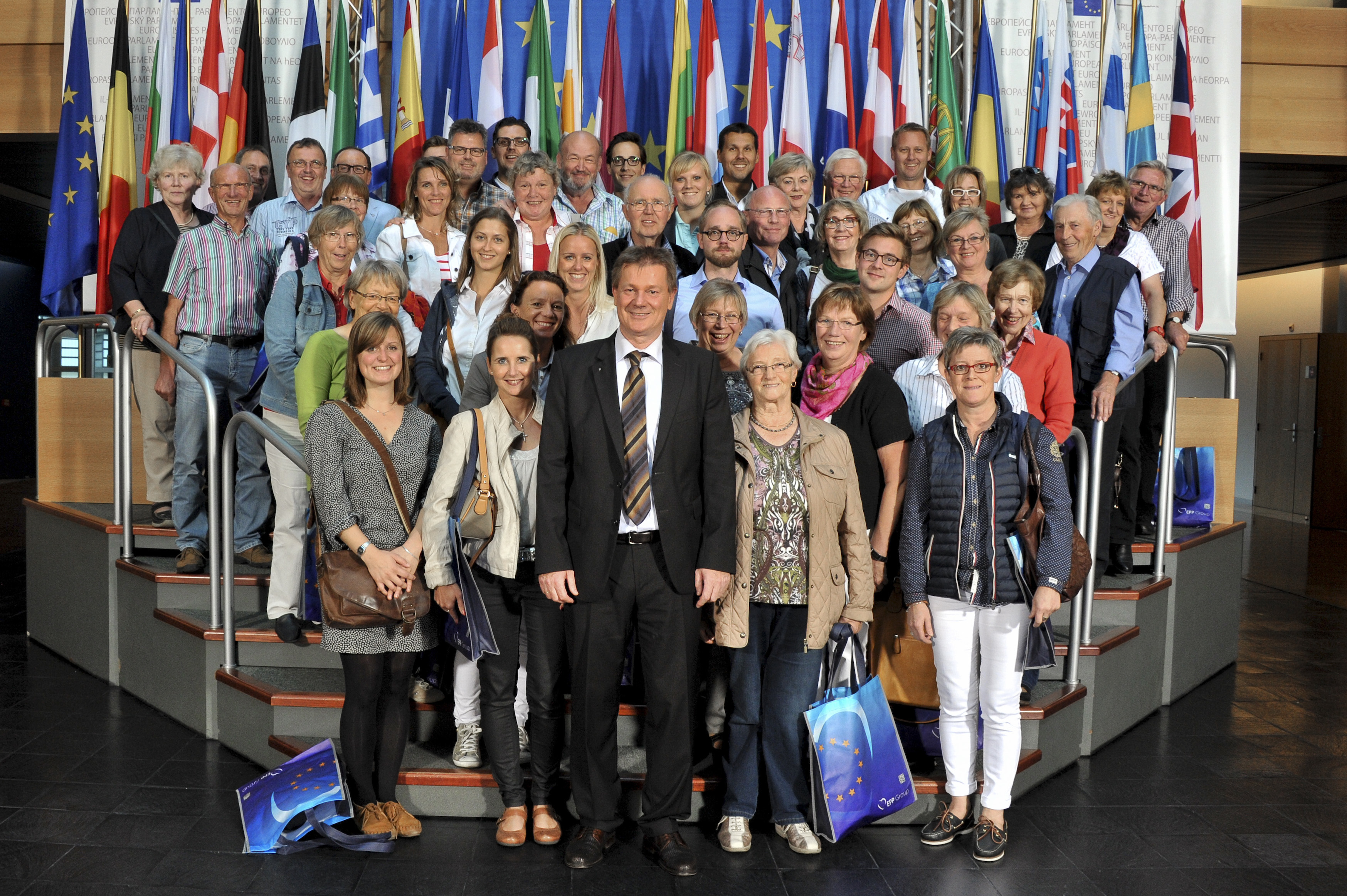 Visitors group in Strasbourg Markus PIEPER