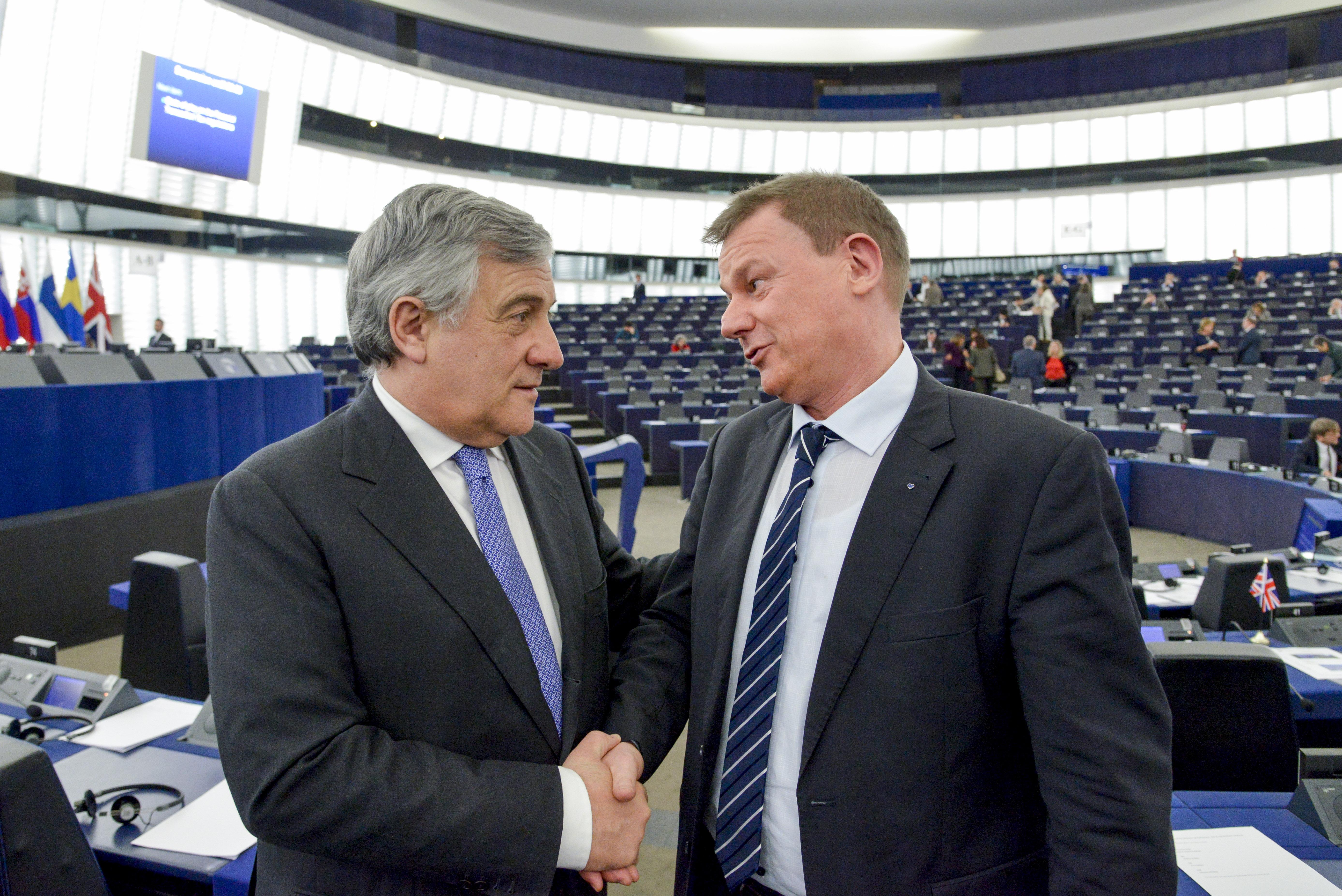 Markus PIEPER in plenary session week 3 2017 in Strasbourg